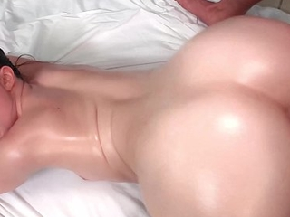 Globelike -LANEY Superannuated *ARCHED On till the end of time band together TEEN Oiled AND FUCKED*