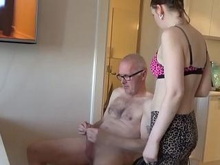 CFNM - pervert Ulf Larsen get sucked and more...