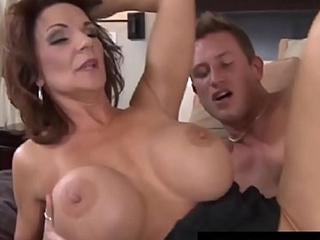Busty Cougar Mom Deauxma Sucks &amp_ Fucks Juvenile Friend'_s Cock!