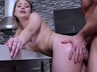 Serena Avery bends over for an anal fuck from stepdads business partner!