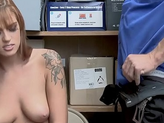 To the past busty redhead housebreaker slut learns the rules wide of a cop