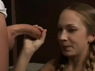 Glamor slut Jaimee endures hard ramming