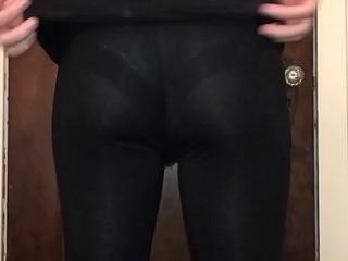 Get it leggings lace panties