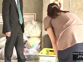 Hot Asian Cleaner Girl Drilled