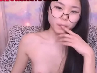 Perfect Petite Nerdy Asian Teen
