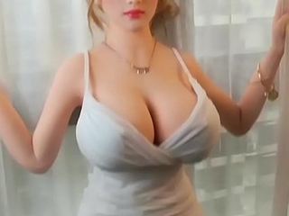 Sexy Russian Wife Sex Doll with Blonde Hair and Big Tits