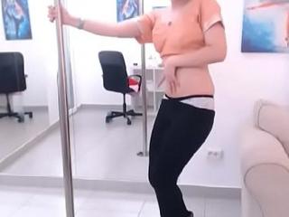 LittleTeenBB PureJasmin pole dance and strip panties 2