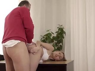 Old4K. Ellen Jess got lost padlock kind gentleman helps their way after sex