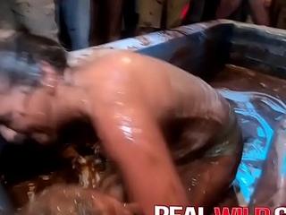 Sexy Spring Break Pudding Wrestling Coeds E1