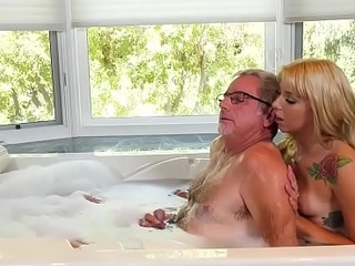Chanel Grey big Chief her husband with horny grey dude
