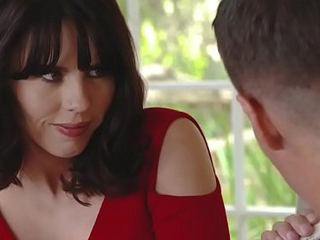 Amber Chase helps stepson study but check in sucking him!