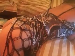 T&amp_A 312  (Part 9) - Fucking WhiteGirl in Dress &amp_ Lingerie (Dress, Satin Panty, Heels)