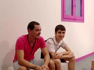 Jordi introduces his cousin to porn in a great foursome with Montse and Carmen