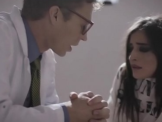 Petite Psych patient Emily Willis was caught by her doctors while masturbating her pussy coupled with decided to tag teamed her coupled with fucked her holes.