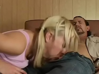 Topnotch blonde Holly gets head with the addition of love tunnel banged