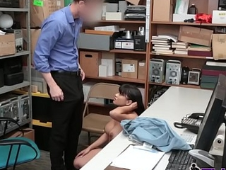 Busty Aryanna gets drilled hard added to abysm by horny officer