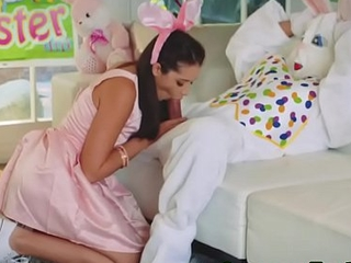 Easter teen gets facial