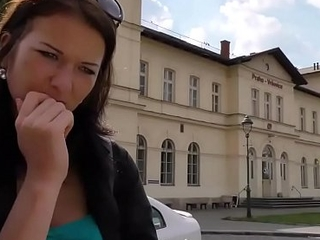 HUNT4K. Foolhardy girl is happy to have sex for money in Prague
